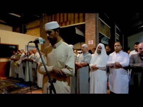 Al Taraweeh prayer in Italy From The Islamic Center in Brescia Italy