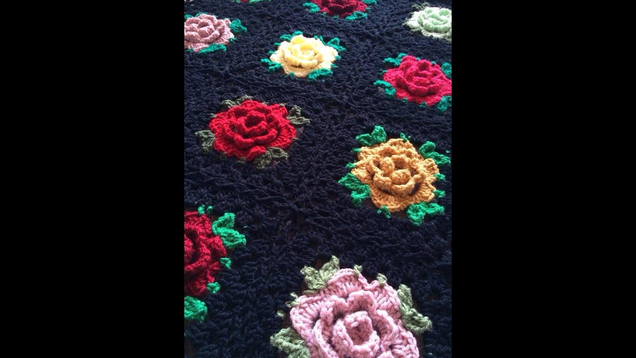 Crochet Bedspread Free Simplicity Patterns135 Youtube