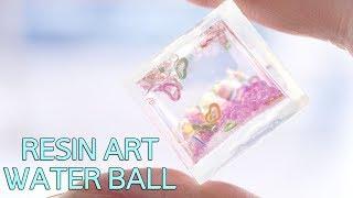 [RESIN ART] 일반 몰드로도 워터볼을 만들수있다…