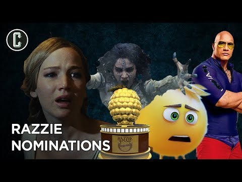The Razzies - Which Movies Sucked The Most In 2017?