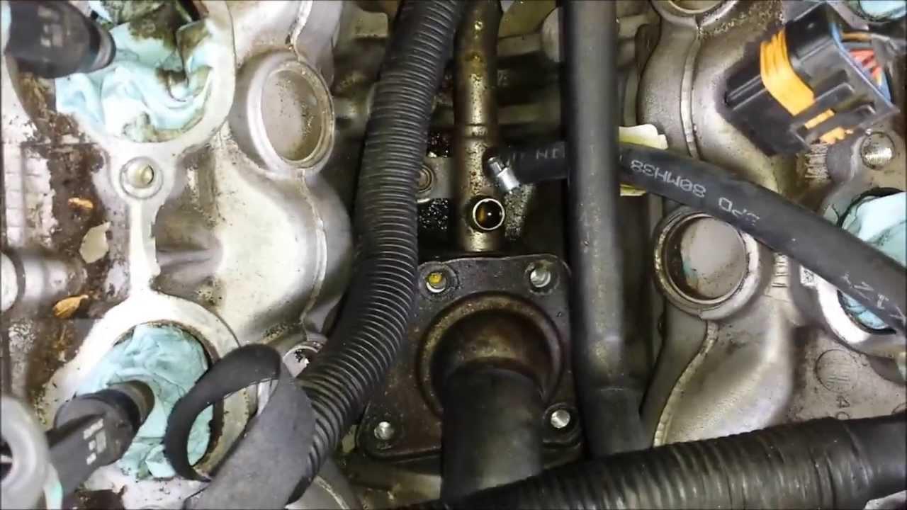 2000 Isuzu Rodeo Engine Diagram Chocolate Pt Phase Sport Manual E Books Intake Manifold Removal And Thermostat Replacementisuzu 12