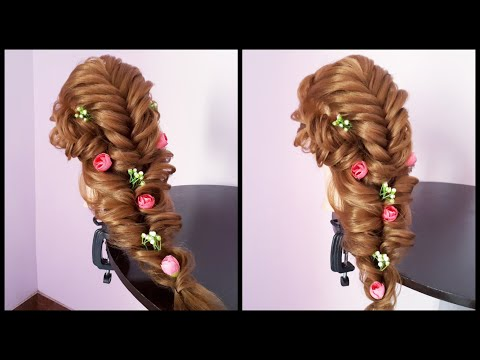 Messy Layered Hairstyles For Long Hair || Hairstyles For Thin Hair || Bridal Updo hairstyles