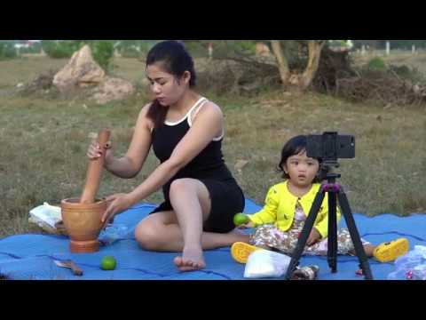 My Evening Routine Picnic In The Countryside With My Baby Grilled Shrimp Youtube Com