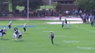 Dominique Seagears returns pick-six 100 yards for Trinity (Conn.)