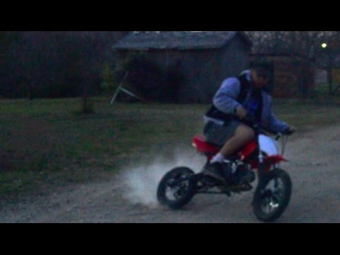 THE PIT BIKE IS BACK!!! Coolster 125cc TOP SPEED!