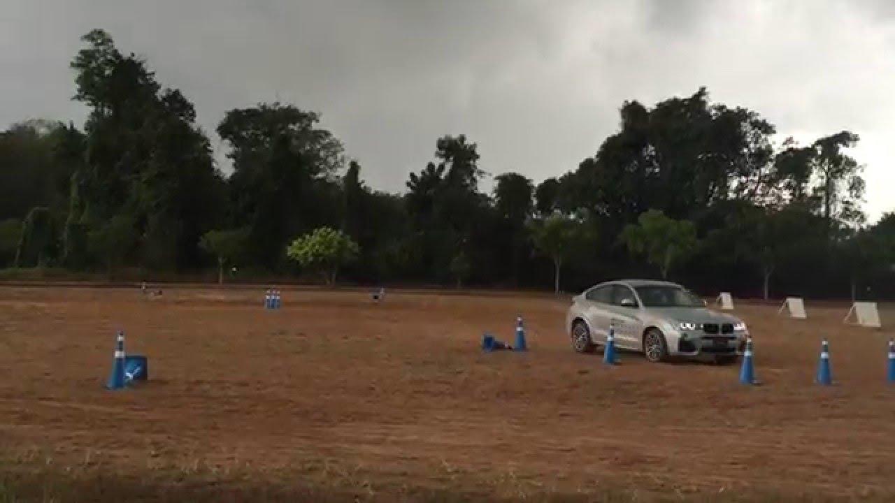 ทดสอบ BMW X3 ในสถานีจิมคาน่า BMW xDrive Xperience 2016