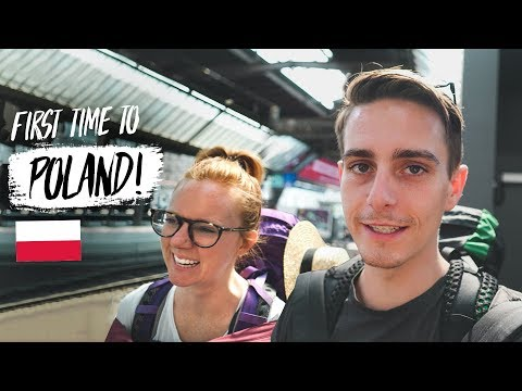 Americans Traveling to POLAND for the FIRST TIME! (Zürich, Switzerland ✈️ Krakow Poland