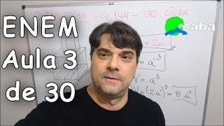 ENEM - QUESTÃO 144 - Caderno cinza - 2015 (Aula 3 de 30)