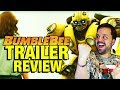 BUMBLEBEE (2018) - TRAILER REACCIÓN - REACTION - REVIEW - John Doe - Travis Knight - Transformers