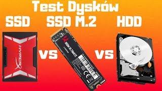 ️ Poniżający TEST Dysków SSD M2 vs SSD Sata vs HDD ️