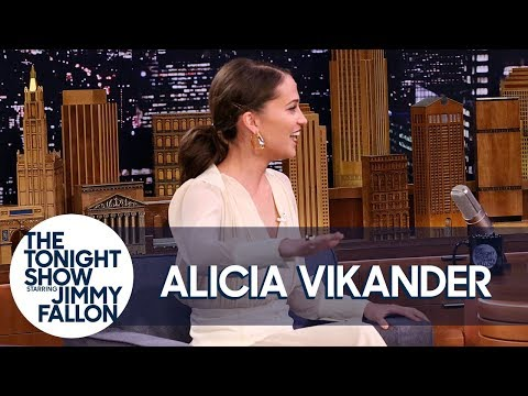 Alicia Vikander Won a Swedish Talent Show When She Was Eight Years Old