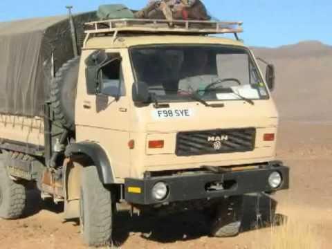 Sahara Overland: M.A.N truck and desert biking in Algeria