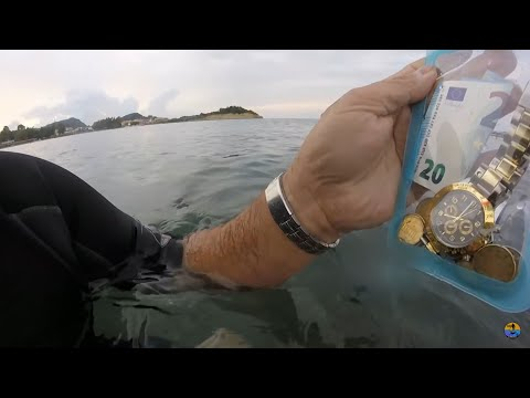 Metal Detecting Beach And Ocean EP9 ($36,000 Rolex Found?!)