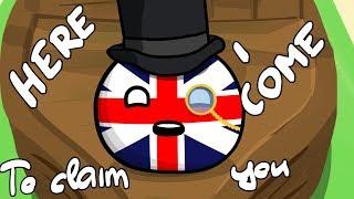 Britain takes Tasmania - Countryballs