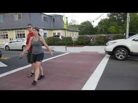 A Tour of the Streetscape Improvements on Pleasant Street (Northampton, MA)