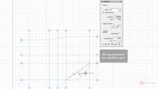 ProtaStructure ile Modelleme - Ortogonal Aks Editörü