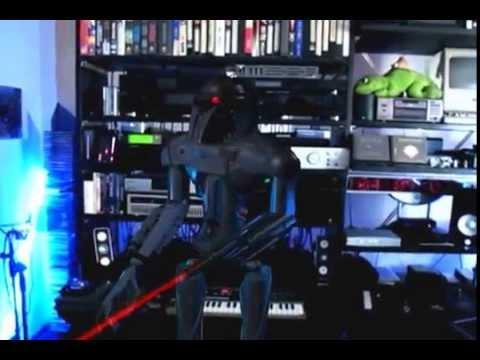 Cylon in my Living Room CGI Demo