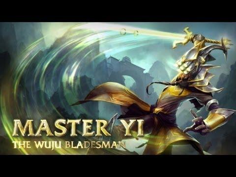 Master Yi Guide - Cách chơi lên đồ Build cho Master Yi