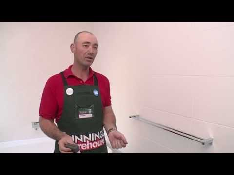 How To Install Bathroom Accessories - DIY At Bunnings