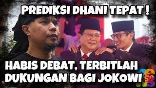 Habis Debat Terbitlah Dukungan Bagi Jokowi