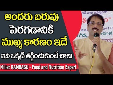 Simple Ways to Live a Healthy, Happy Life    Millet Rambabu    SumanTV Organic Foods