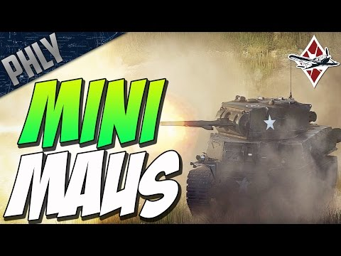 MINI MAUS & P-61 BLACK WIDOW (War Thunder Tanks Gameplay)