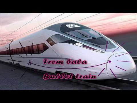 TREM BALA com letra (BULLET TRAIN) ANA VILELA - brazilian song with lyrics and english subtitles