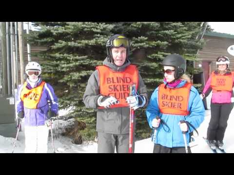 Guiding Blind Skiers: An Instructional Handbook for Guiding the Visually Impaired