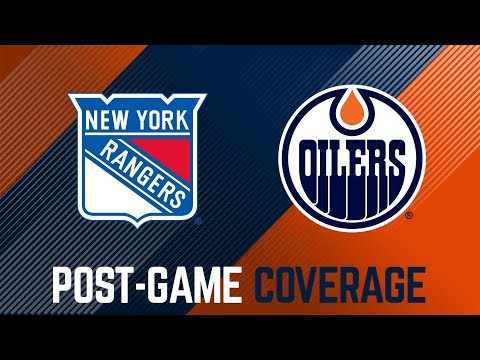 ARCHIVE   Oilers Post-Game Interviews at Rangers