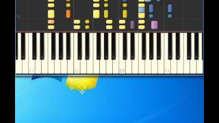 Four Seasons   Big Girls Don'T Cry [Piano tutorial by Synthesia] [Piano tutorial by Synthesia]