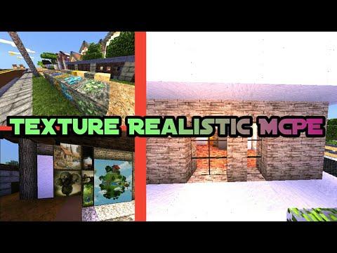 Texture Realistic Paling mantap di MCPE