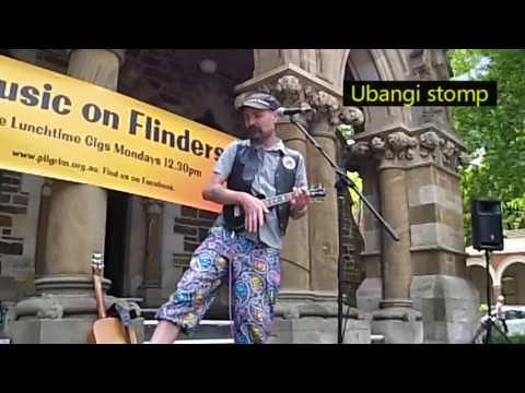 Lord Stompy live: ukulele, guitar, harmonica loops