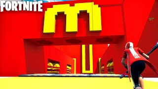 The Official MCDONALDS DEATHRUN in Fortnite Creative! (Really fun)