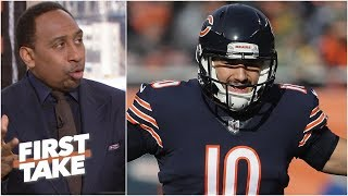 Mitchell Trubisky will hold the Chicago Bears back - Stephen A. l First Take