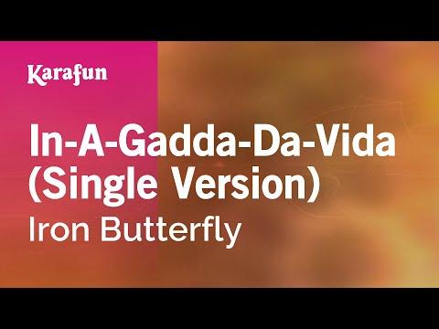 Karaoke In-A-Gadda-Da-Vida (Single Version) - Iron Butterfly *