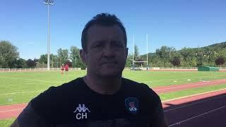 Christophe Hamacek après UCS - Tarbes