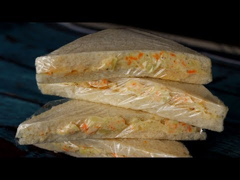 Veg Mayonnaise Sandwich Recipe    2 Minute Easy And Tasty Veg Sandwich Recipe
