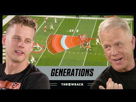 Joe Burrow & Boomer Esiason are Cincinnati Superstars!   NFL Generations