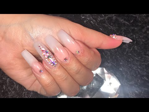 Acrylic Nails Tutorial | Watch Me Do My Nails