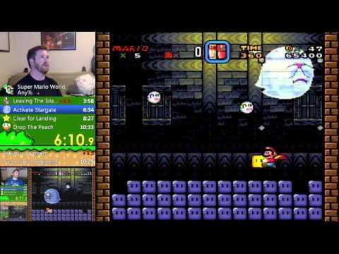 Super Mario World Any% (10:31.70) PB