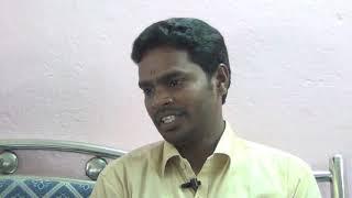 Srinivas garu explaining his experiences with thraithasiddantham