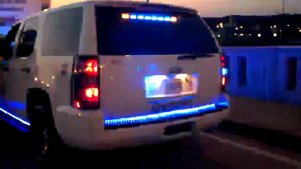 Hg2 Emergency Lighting Chevy Tahoe Youtube