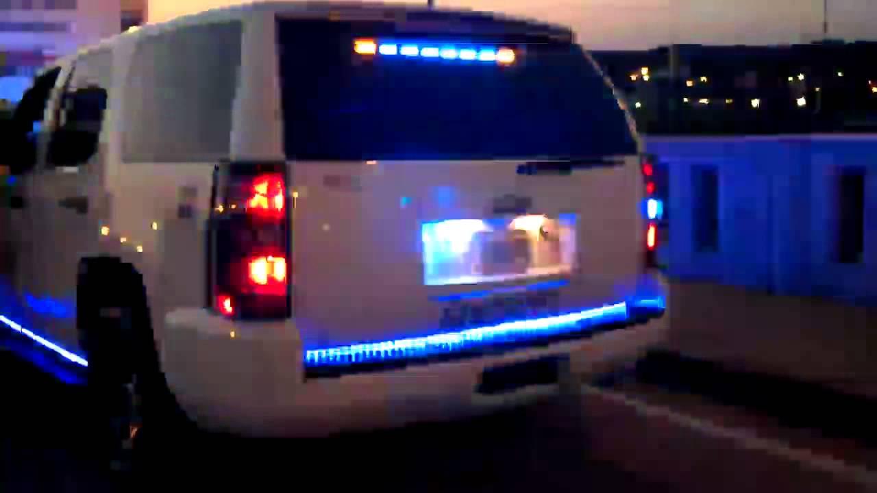 Black Car Lights Wallpaper Hg2 Emergency Lighting Chevy Tahoe Youtube