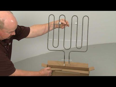 Broil Element - Kitchenaid Electric Slide-In Range Model #KSEB900ESS2