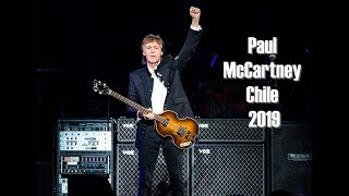 Paul McCartney Chile 2019 ( Entrando al Nacional | Ambiente | Inicio del Show | A Hard Day's Night )