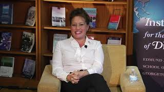 ISD Diverse Diplomacy Leaders series with Stephanie Syptak Ramnath _ short video