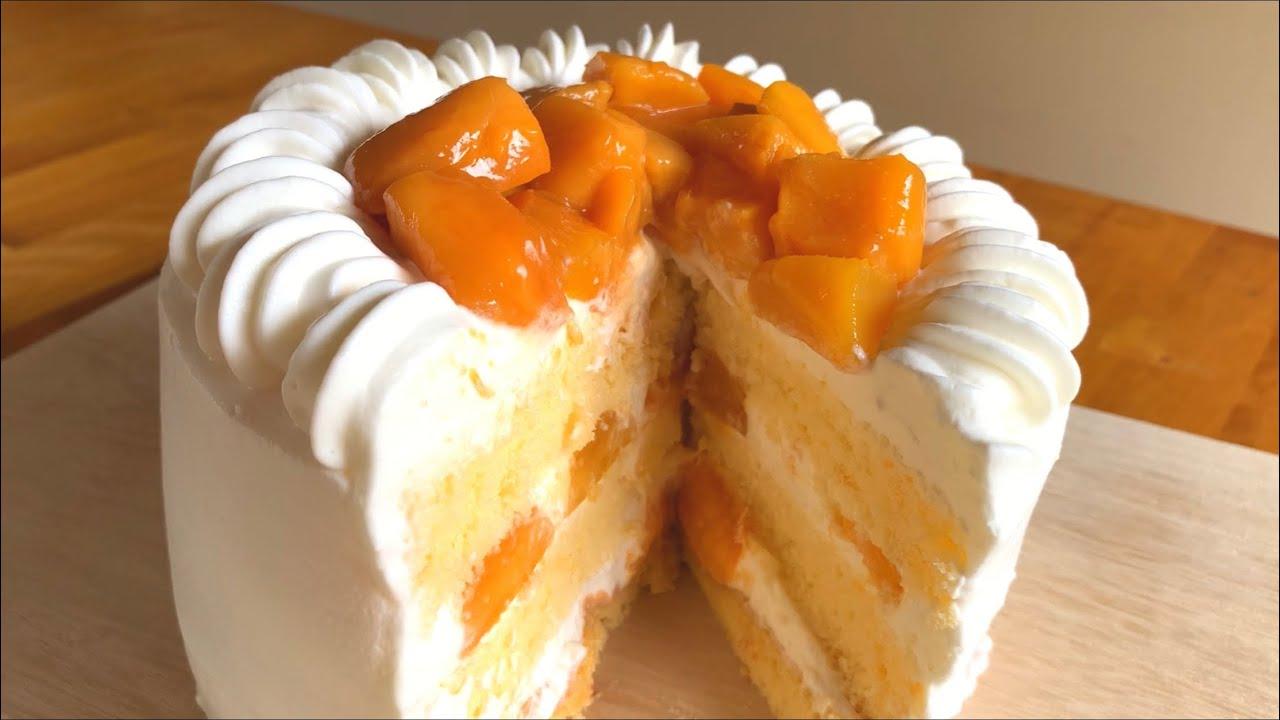 夏にぴったり♡マンゴーのショートケーキの作り方