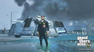 HURRICANE & TORNADO DESTROY LOS SANTOS - GTA 5 END OF LOS SANTOS FLORIDA