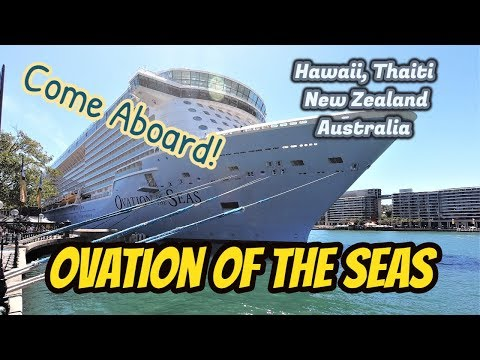 Ovation Of The Seas -  Hawaii Tahiti, New Zealand,Australia