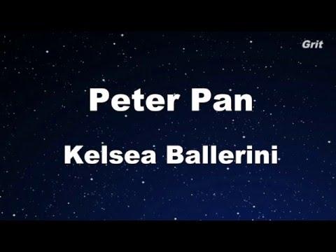 Peter Pan - Kelsea Ballerini Karaoke 【No Guide Melody】 Instrumental